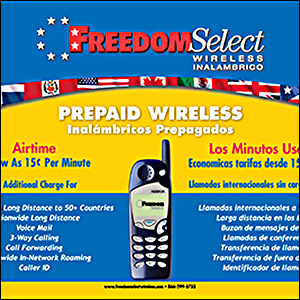 Freedom Select Wireless Counter Mat