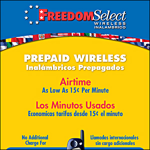 Freedom Select Wireless Poster