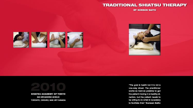 Traditional Shiatsu Therapy