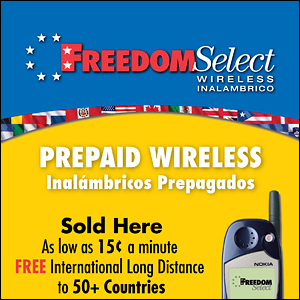 Freedom Select Wireless Window Cling